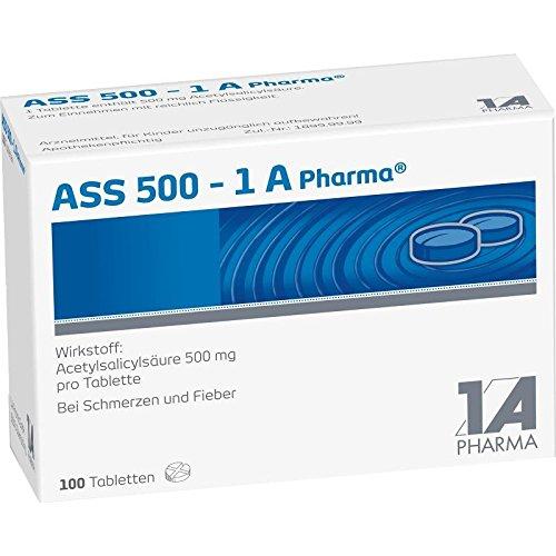 ASS 500-1 A Pharma, 100 St. Tabletten