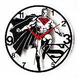 Actim 12 Pollici muto Orologio da Parete Superman Logo Orologi