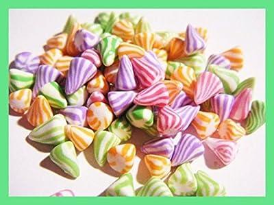 80 berlingots miniatures en fimo pâte polymère pour fiole