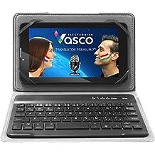 """Vasco Translator Premium 7"""" mit Tastatur: Elektronischer Übersetzer für 40 Sprachen, mit Spracherkennung"""