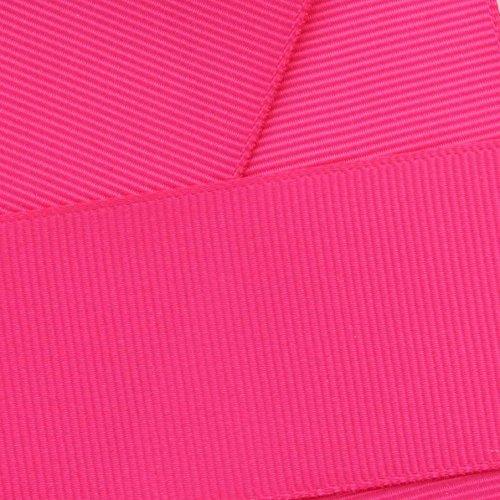 Ripsband 25mm x 10Meter wählen Sie aus vielen Farben–GCS London Pink