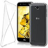 moex LG X Power 2 | Hülle Silikon Transparent Klar Clear Back-Cover TPU Schutzhülle Dünn Handyhülle für LG X Power 2 Case Ultra-Slim Silikonhülle Rückseite