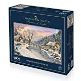Gibsons g6212 Winter Evening Dusk Puzzle (1000 Teile)
