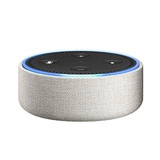 Amazon Echo Dot-Hülle (nur für Echo Dot 2. Generation geeignet), Sandstein Stoff