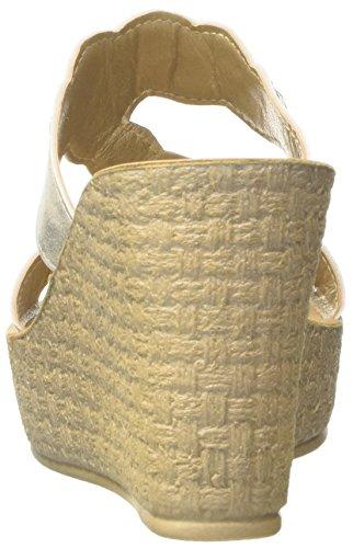Inblu CE000041, Ciabatte con Zeppa Donna Bianco