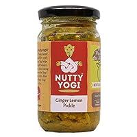 Nutty Yogi Ginger Lemon Pickle, 200 gms