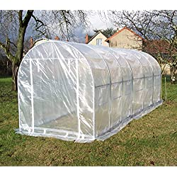 Habrita Serre Tunnel de Culture 3 x 6 m