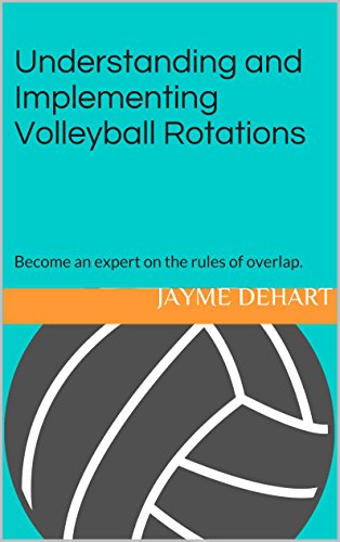 Understanding and Implementing Volleyball Rotations: Become an expert on the rules of overlap. (English Edition) por Jayme DeHart