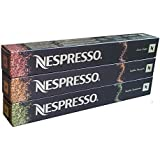 Nespresso Variations 2015 - 30 Capsules Ciocco Ginger + Vanilla Amaretti + Vanilla Cardamom - Christmas Edition