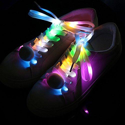Pet Leso® 1 Paar LED Nylon Leuchten Spitzeen Blinkende Spitzee ()