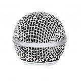 Testa di ricambio per microfono, in rete, compatibile con Shure SM58, AKG, Sennheiser, ecc.
