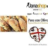 PANE CON OLIVE, Pane tipico di Sardegna, 1 Kg, Prodotti Sardi