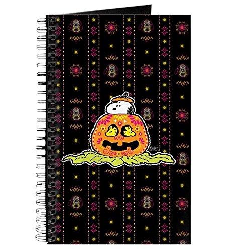 der Toten Snoopy Kürbis–Spiralbindung Journal Notizbuch, persönliches Tagebuch, blanko (Kürbis-gebet)