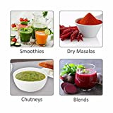 Wonderchef 400 Watt Nutri-Blend Black with Free Set of 6 Glasses and Recipe Book by Sanjeev Kapoor.