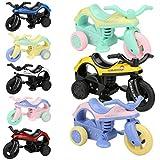 Fahrrad-Spielzeug,Mini-Fahrzeug ziehen Fahrrad zurück Mit Riesenrad Kreative Geschenke für Kinder Sisit (Mehrfarbig)