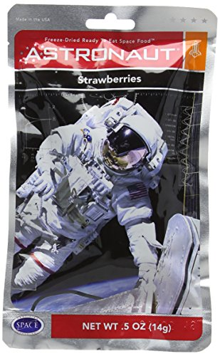 Astronaut Food  Strawberries Test