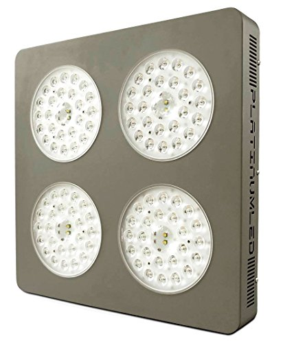 Advanced Platinum Series P4-XML2 380w 12-band LED Grow Light + CREE 10w XM-L2 w/ DUAL VEG/FLOWER FULL SPECTRUM - Mista Serie