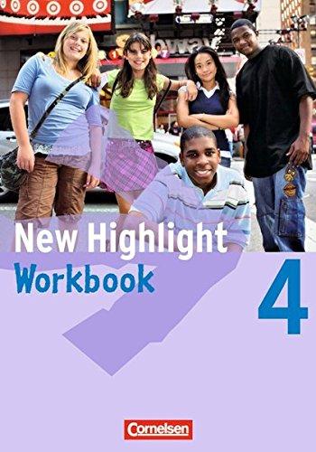 New Highlight - Allgemeine Ausgabe / Band 4: 8. Schuljahr - Workbook,