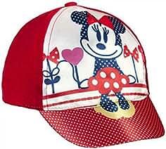 Gorra para Bebe de algodón de Minnie Mouse ss16 0bfbceed054