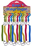 Spiral Stretchy Retractable Springy Keyring Keychain by Kool Keyrings