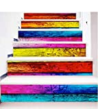 Longwei Treppen Selbstklebende Tapete europäischen Simulation Fliesenboden Heimtextilien 3D Abnehmbare DIY Stereo Aufkleber Moderne HD Wasserdichte Treppe Tapeten kaufen Drei Bekommen Eins Frei