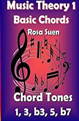 Music Theory - Basic Chords - Chord Tones 1, 3, b3, 5, b7 (Learn Piano With Rosa) by Rosa Suen (2014-07-04)