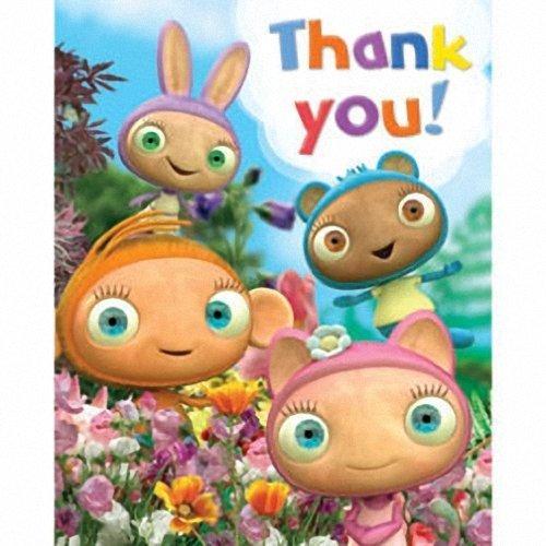 thank you cards - waybuloo - 6pk by Gemma International