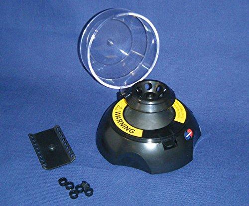 DUTSCHER 079031 rotore 6 microprovette per microcentrifuga da 1,5 mL, 2 mL e adattatori per tubi (0,5 mL)