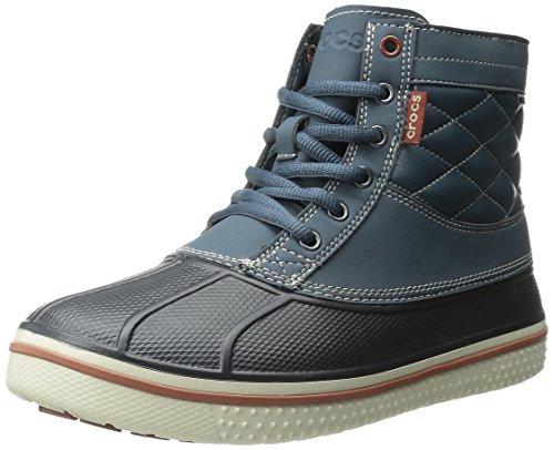 Crocs All Cast Waterproof Duck, Men's Boots, Grey (Nightfall/Stucco),