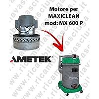 MX 600P Motor ametek de aspiración para aspiradora y te Maxiclean
