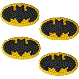 Wilton Batman Icing Decorations, Multicolor