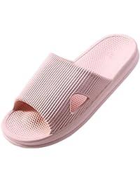 WILLIAM&KATE Spring Summer Unisex House Slipper Casual Antideslizante Zapatillas de Baño Sandalia Suave y Ligera Zapatillas Para Interior y Exterior Para Parejas hsy5k3