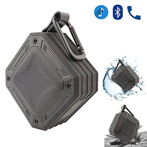 ONVAYA® Tragbarer Outdoor Bluetooth Lautsprecher | 20 Stunden Akku Spielzeit | staubdicht | wasserdicht IP67 | stoßfest | Sound Box | Micro SD USB MP3 Sony Heim-lautsprecher