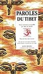 Paroles du Tibet de Marc de Smedt (So...