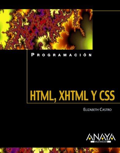 HTML, XHTML y CSS (Programación) por Elizabeth Castro
