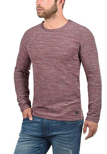 PRODUKT Pantaleon Herren Sweatshirt Pullover Sweater mit  Rundhals-Ausschnitt aus hochwertiger 100% Baumwolle Meliert ... cb702980cb