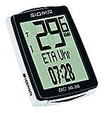 Sigma Sport Fahrrad Computer BC 16.16, 16 Funktionen, Ankunftszeit, Fahrradtacho mit Kabel, wasserdicht - 3
