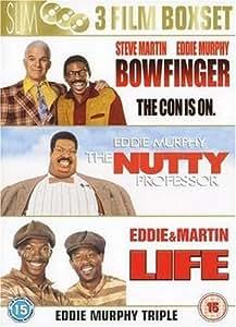 Bowfinger/The Nutty Professor/Life [DVD]