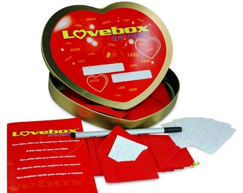 Lovebox für Paare - Liebesbotschaft für Sie und Ihn - Romantisches Geschenk für Pärchen