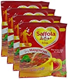 #10: Big Bazaar Combo - Saffola Active Soup Powder - Spicy Manchow, 12g (Buy 3 Get 1, 4 Pieces) Promo Pack