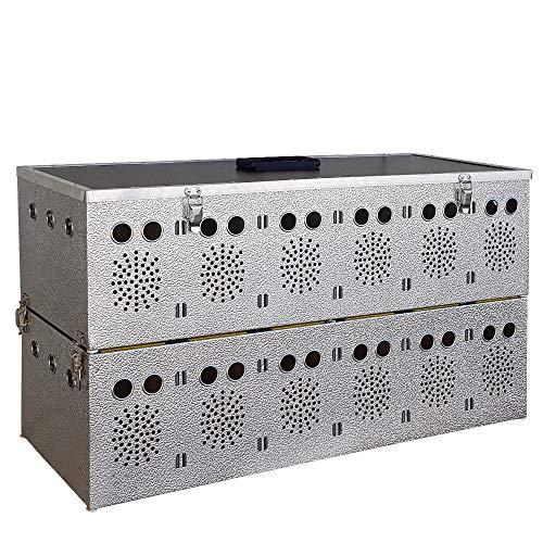 Breker Aluminium Transportkorb 12 Abteilungen