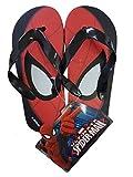 takestop® Flip Flops Spiderman Marvel Spiderman Superheld Anzahl 32Flip Flop Kinds Baby Mädchen Sandalen Schlappen Meer Muster Meer