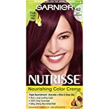 Garnier Nutrisse Hair Color - 42 Deep Burgundy Black Cherry, 70 ml