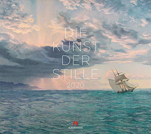 Die Kunst der Stille 2020, Wandkalender im Querformat (54x48 cm) - Kunstkalender (Impressionismus) mit Monatskalendarium