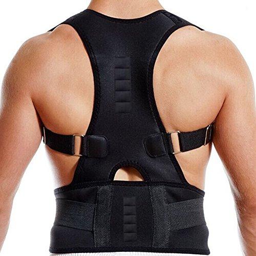 Dazone Haltungskorrektur Rücken Geradehalter Schulter Rückenstütze für Damen und Herren (L)