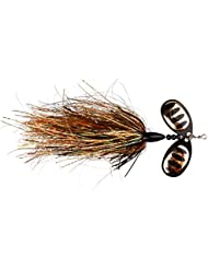 Savage Gear DP Pike Bass Predator Spinners. Crazy Precio., dp gold black flame 25g (42141)