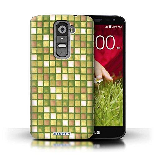 Kobalt® Imprimé Etui / Coque pour LG G2 Mini/D620 / Rose conception / Série Carreau Bain Or