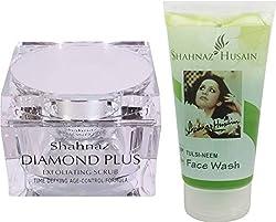 Shahnaz Husain Diamond Scrub Free neem tulsi face wash