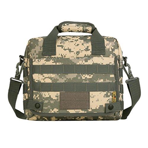 Sharplace Uomo Borsa a Tracolla Messenger Bag Perfetto per Viaggi, Lavoro, Scuola, Escursioni, Campeggio, Ciclismo - #03 #04