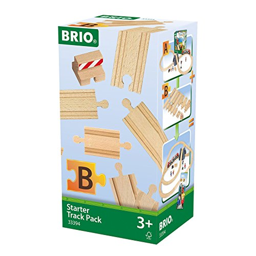 Brio - 33394 - Rails - coffret de demarrage - 13 rails
